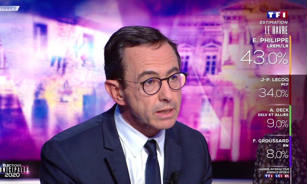 """Bruno Retailleau : """"L'annonce du Premier ministre, hier soir, du passage au stade 3 a créé un vent de panique"""""""