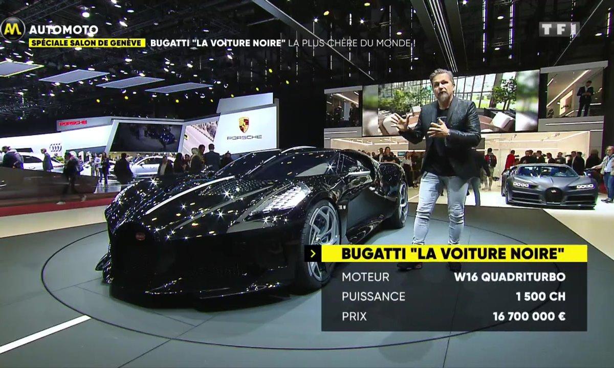 """Salon de Genève - Bugatti """"La Voiture noire"""", la plus chère du monde"""