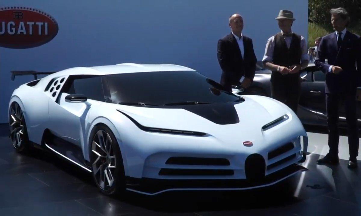 Présentation de la Bugatti Centodieci