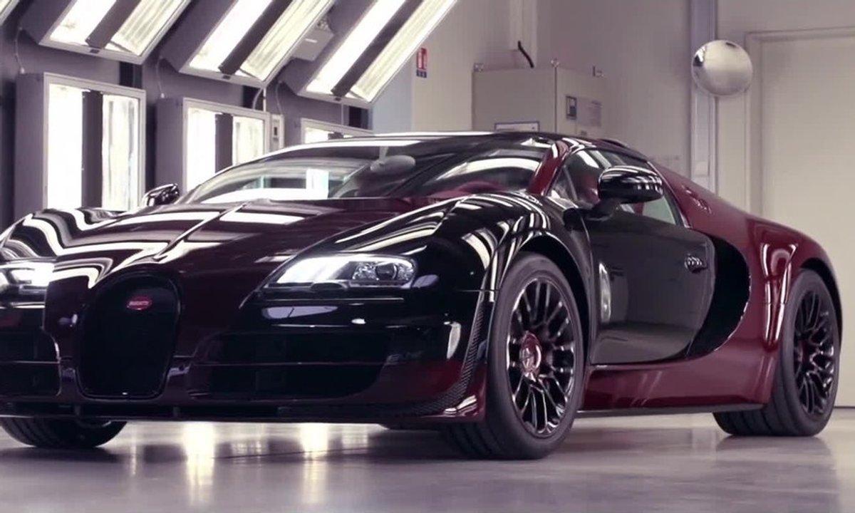 Dans les coulisses de la Bugatti Veyron La Finale