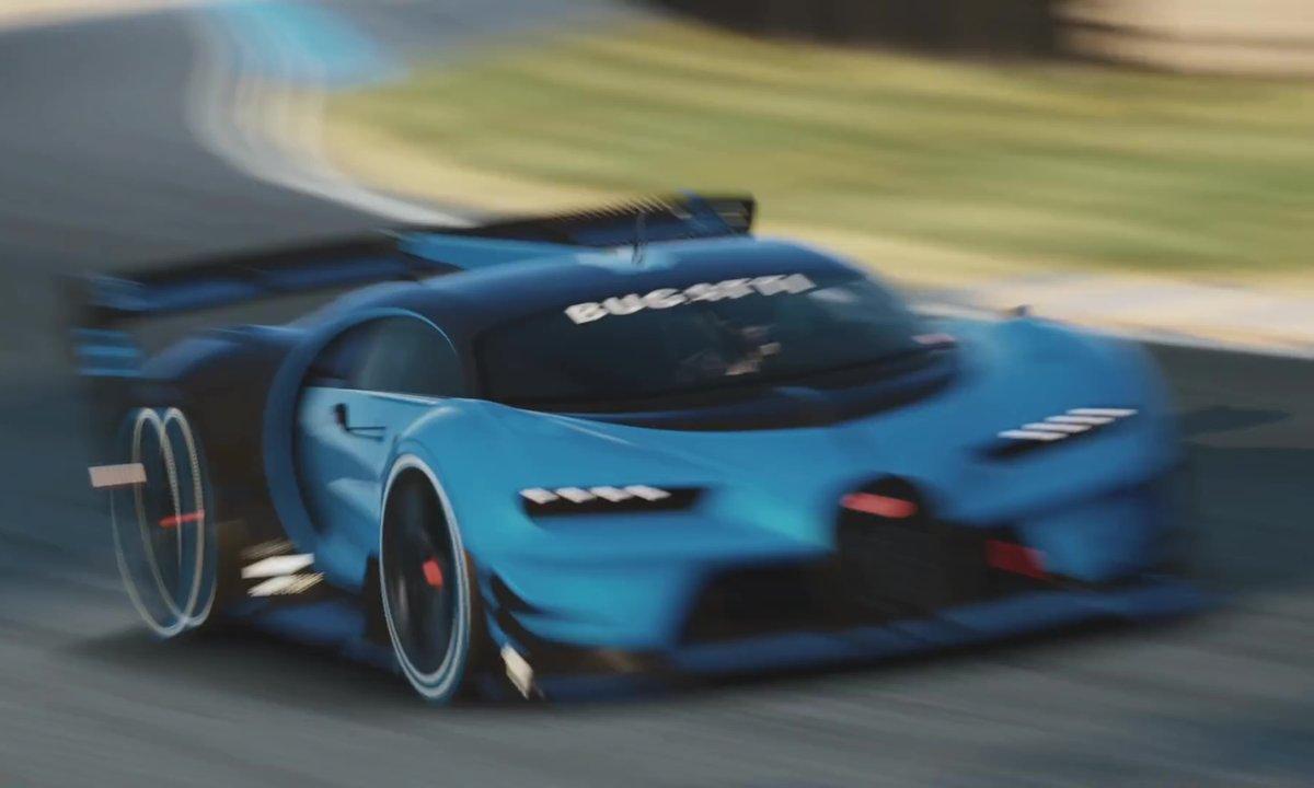 Bugatti Vision Gran Turismo 2015 : présentation officielle