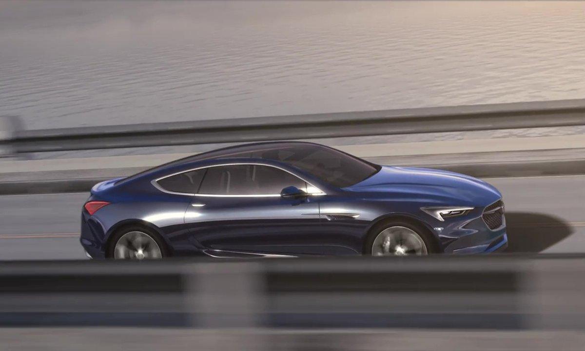 Buick Avista Concept 2016 : présentation officielle