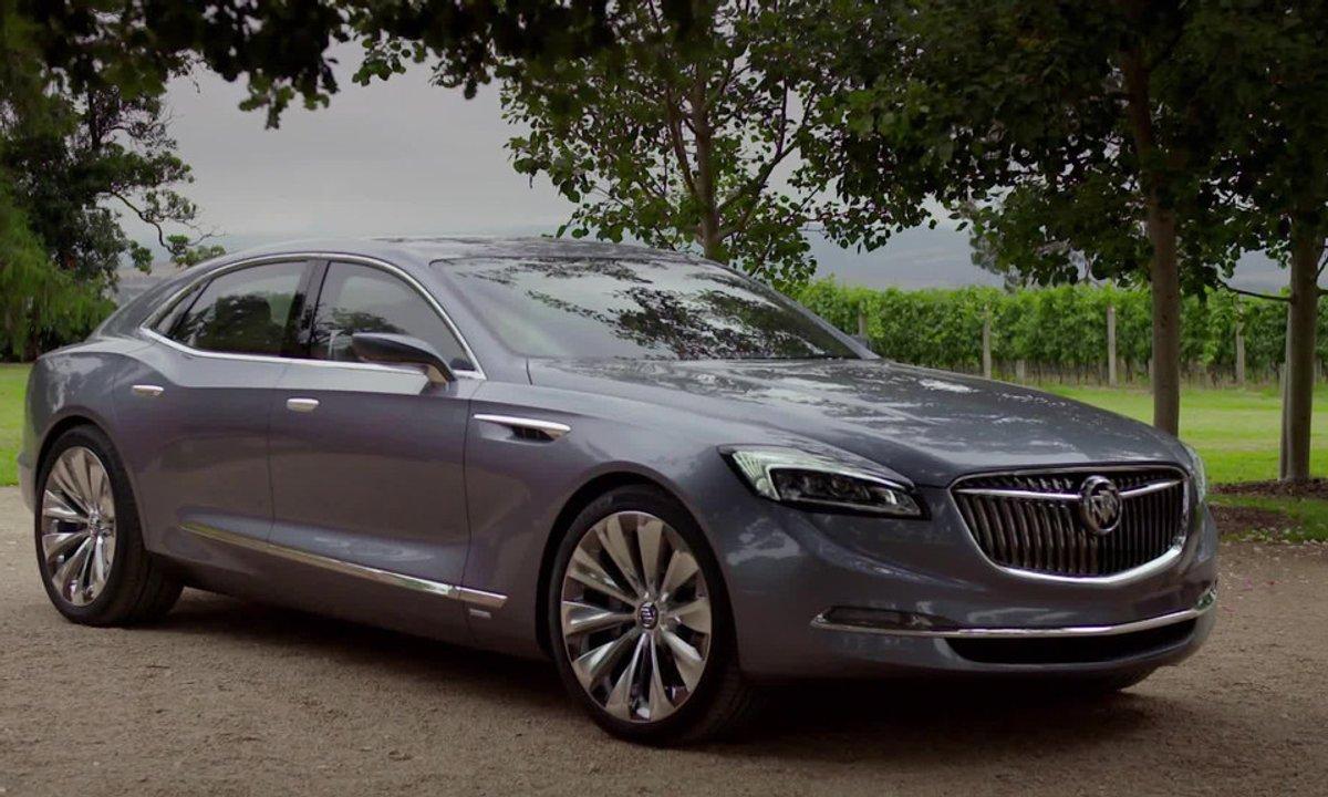 Buick Avenir Concept 2015 : présentation officielle