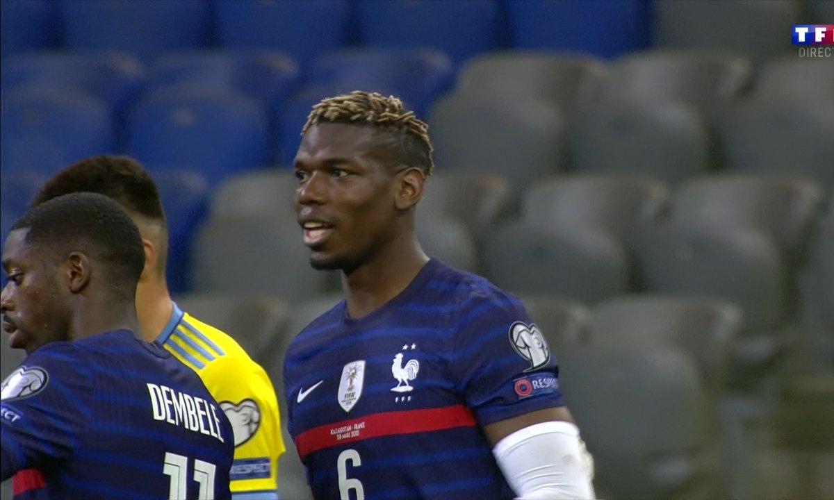 Kazakhstan - France (0 - 2) : Voir le 2e but IMPROBABLE des Bleus en vidéo