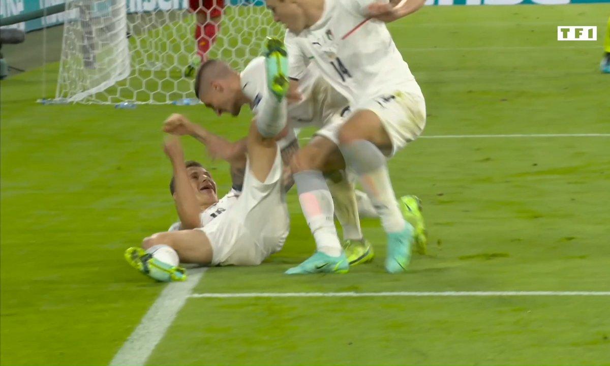 Belgique - Italie (0 - 1) : Voir le but de Barella en vidéo