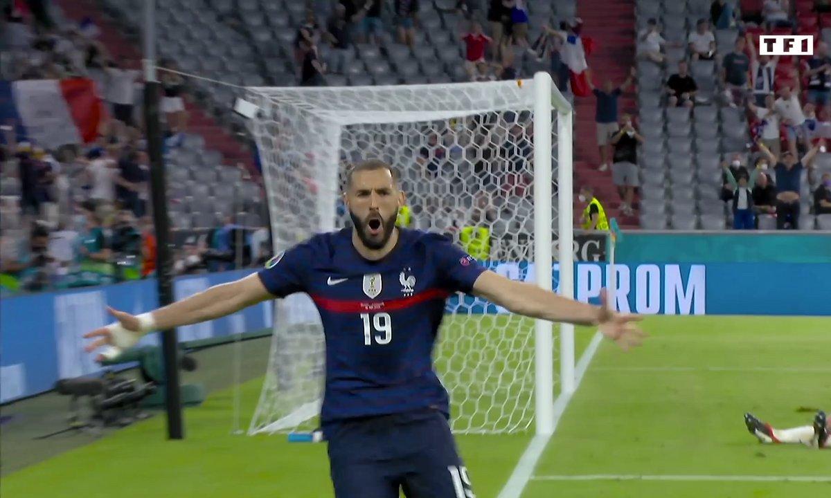France - Allemagne (1 - 0) : Voir le but refusé à Benzema