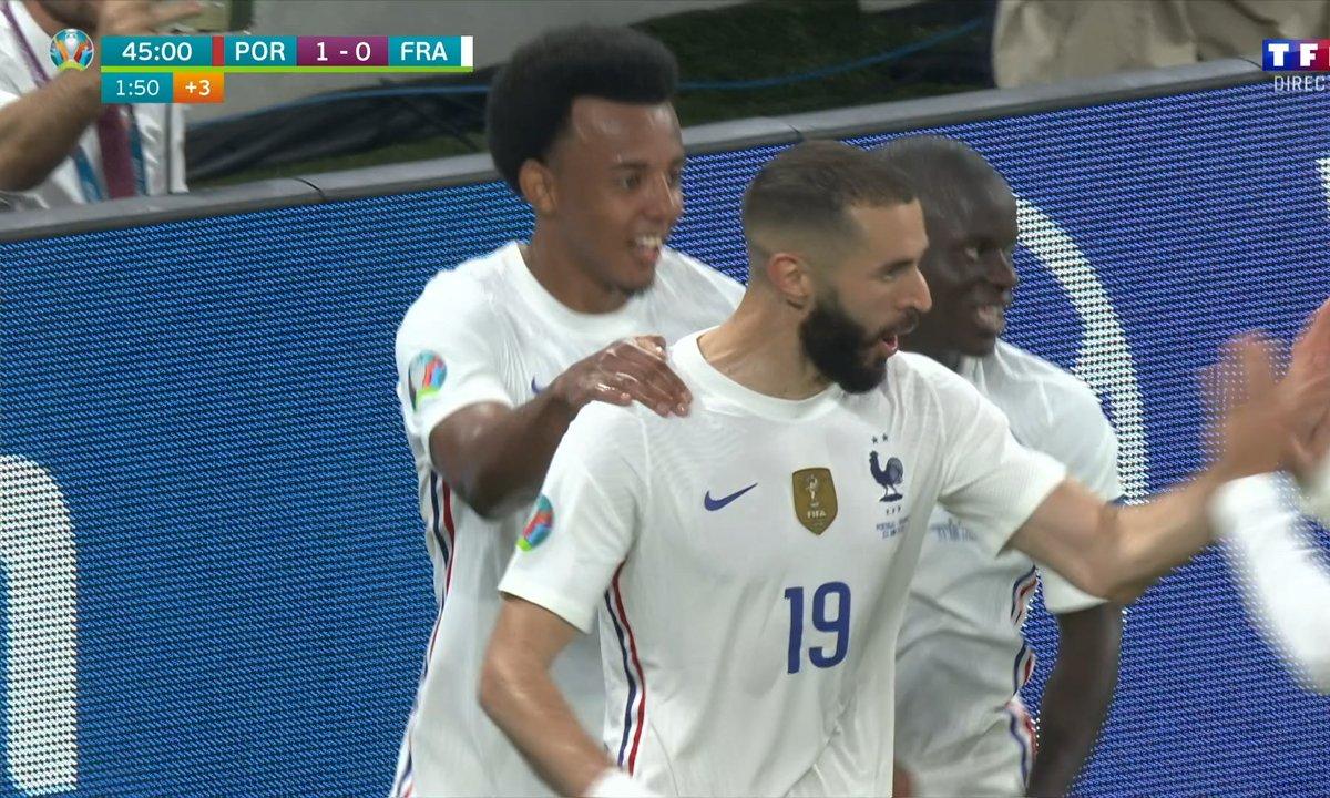 Portugal - France (1 - 1) : Voir le but de Benzema en vidéo