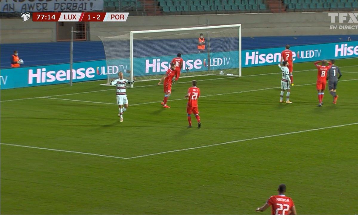 Luxembourg - Portugal (1 - 2) : Voir l'IMMANQUABLE occasion de Ronaldo en vidéo
