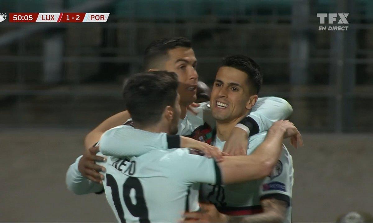 Luxembourg - Portugal (1 - 2) : Voir le but de Ronaldo en vidéo