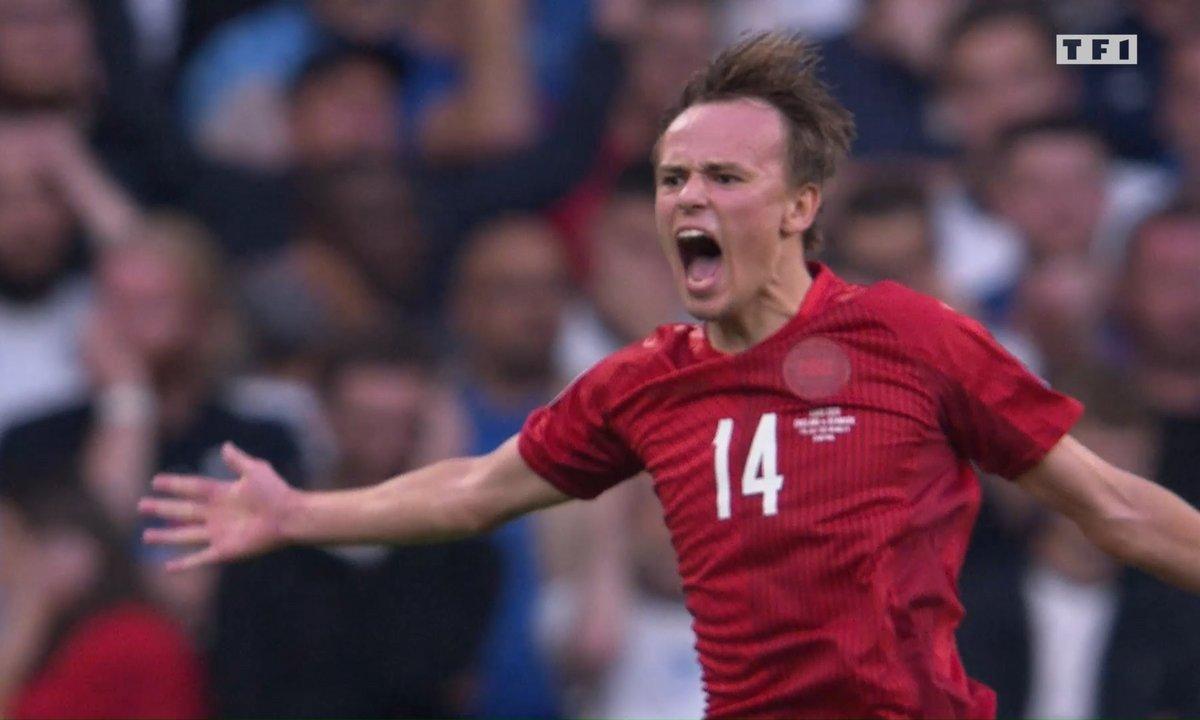 Angleterre - Danemark (0 - 1) : Voir le but de Damsgaard en vidéo