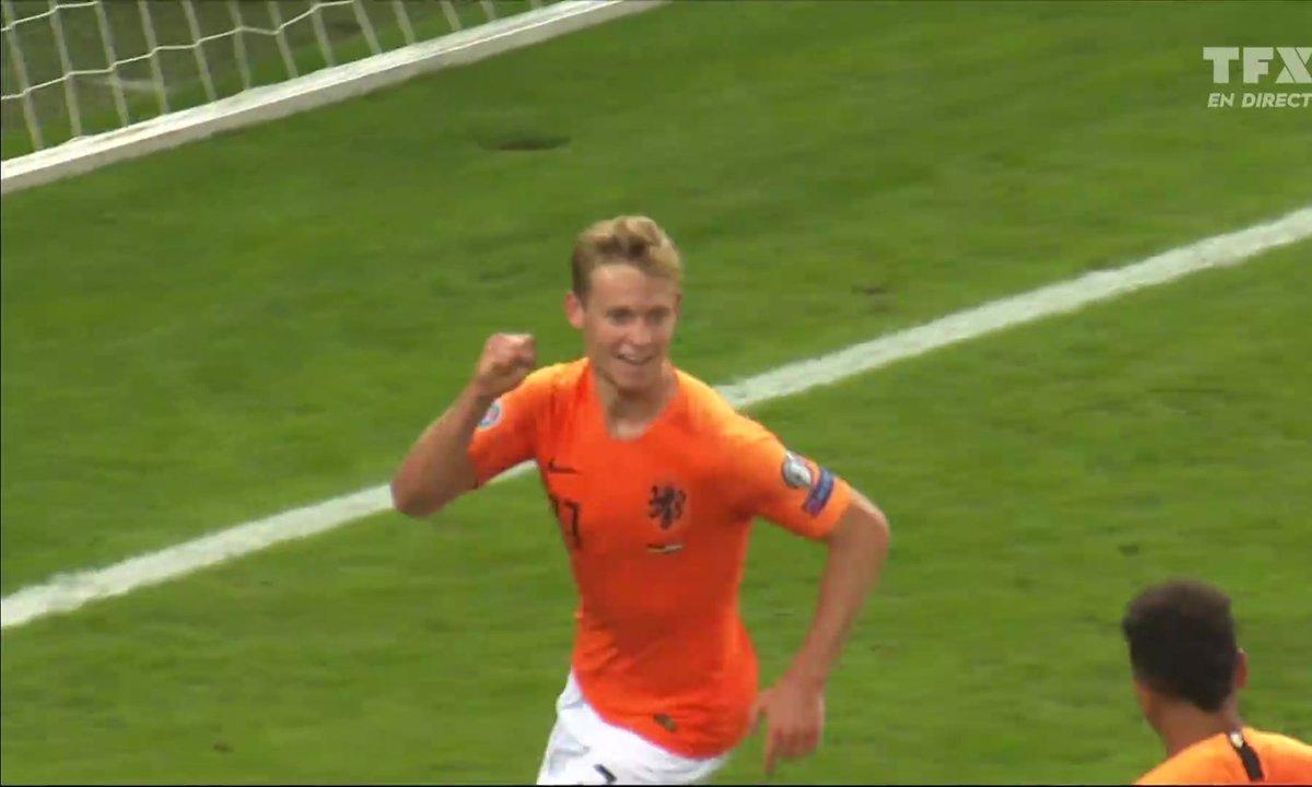 Allemagne - Pays-Bas (1 - 1) : Voir le but de De Jong en vidéo