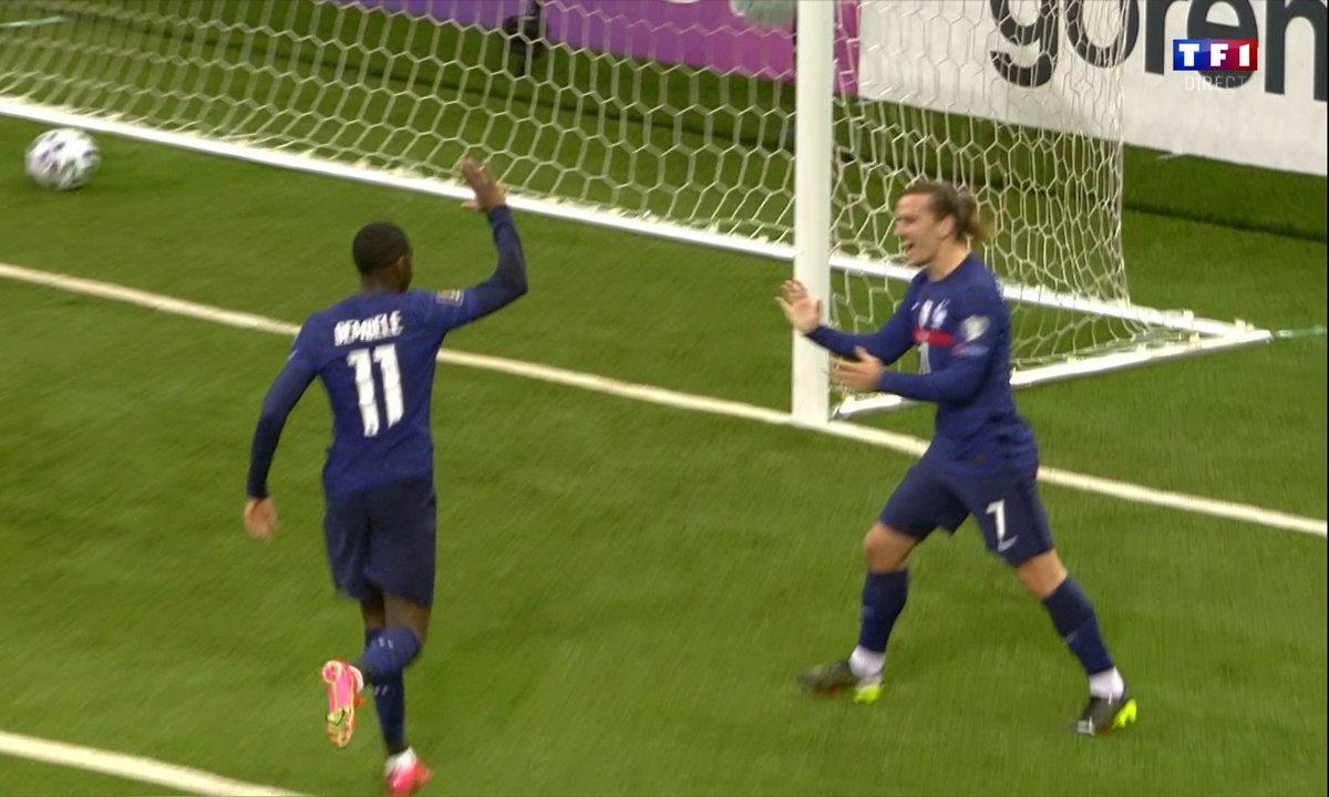Kazakhstan - France (0 - 1) : Voir le but de Dembélé en vidéo