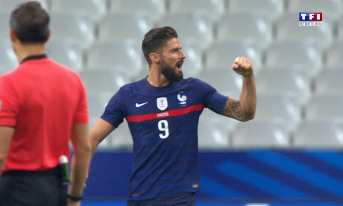 France - Ukraine (2 - 0) : Voir le but de Giroud en vidéo