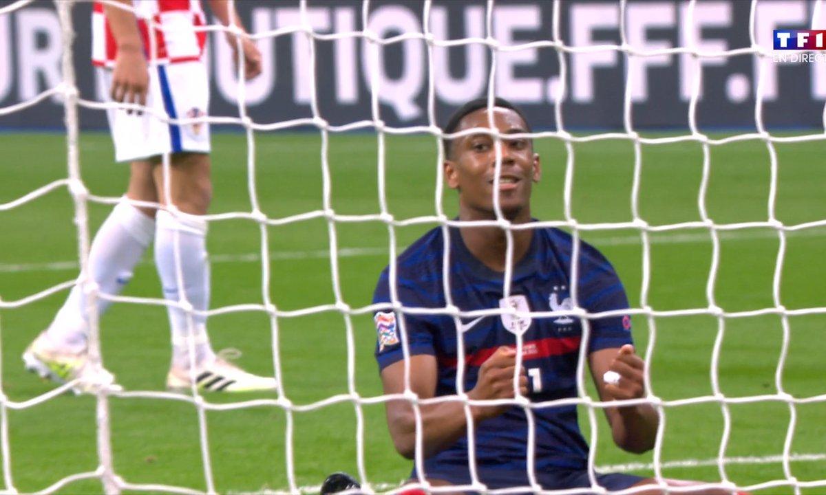 France Croatie 2 1 Voir Le But De Martial En Video L Equipe De France Tf1