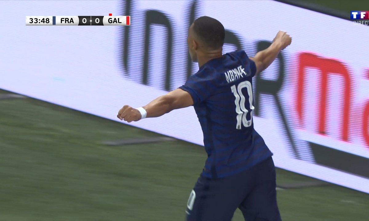 France - Pays de Galles (1 - 0) : Voir le but de Mbappé en vidéo