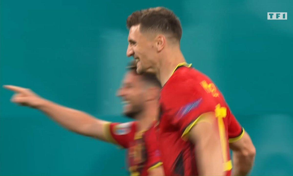 Belgique - Russie (2 - 0) : Voir le but de Meunier en vidéo