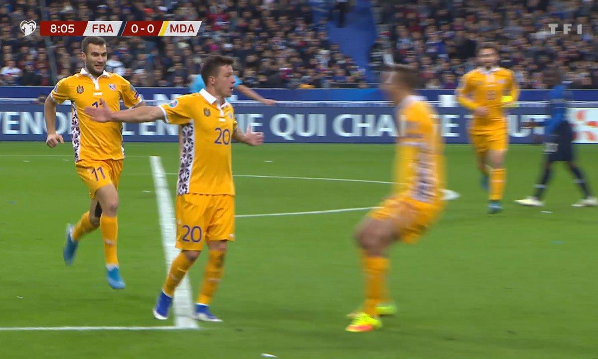 France - Moldavie (0 - 1) : Voir le but de Rata en vidéo