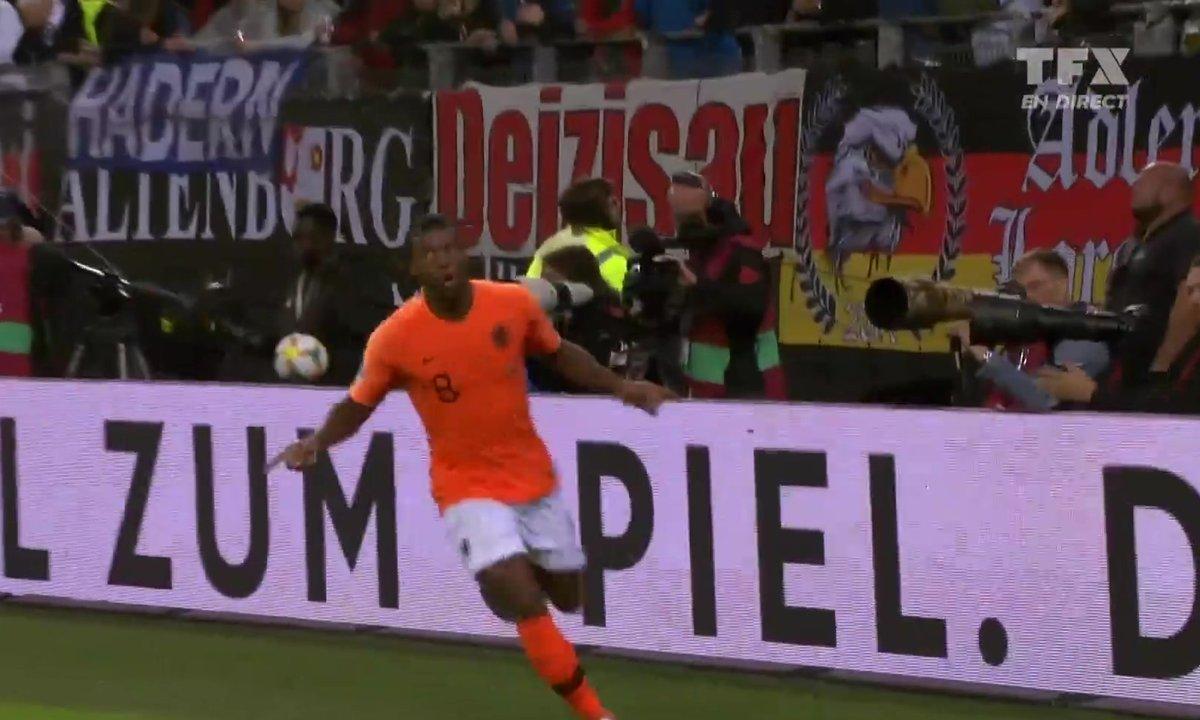 Allemagne - Pays-Bas (2 - 4) : Voir le but de Wijnaldum en vidéo