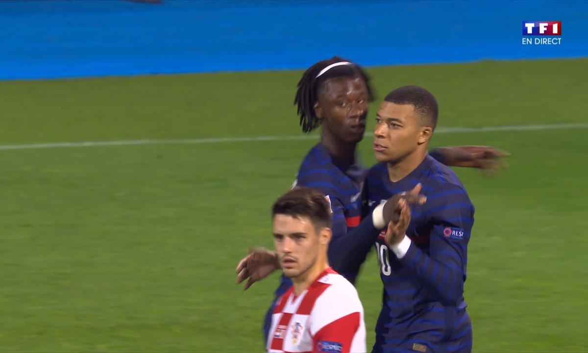 Croatie - France (1 - 2) : Voir le but de Mbappé en vidéo