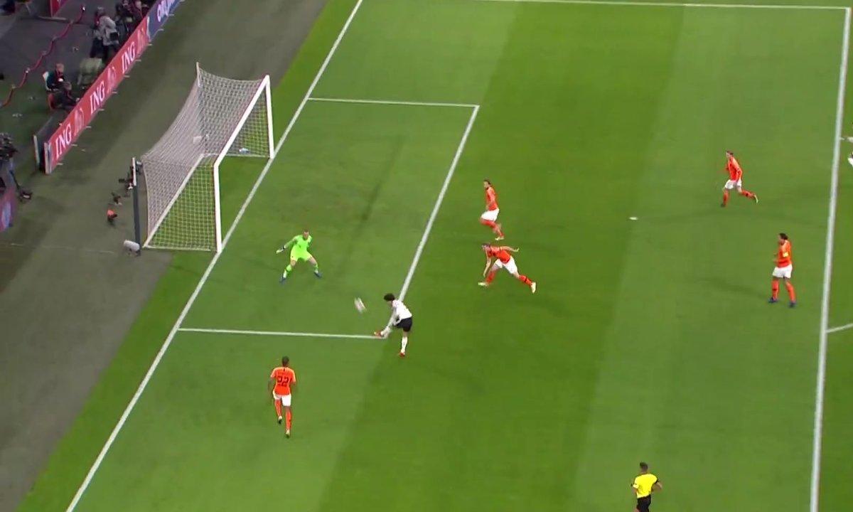 Pays-Bas - Allemagne (0 - 1) : Voir le but de Sané en vidéo