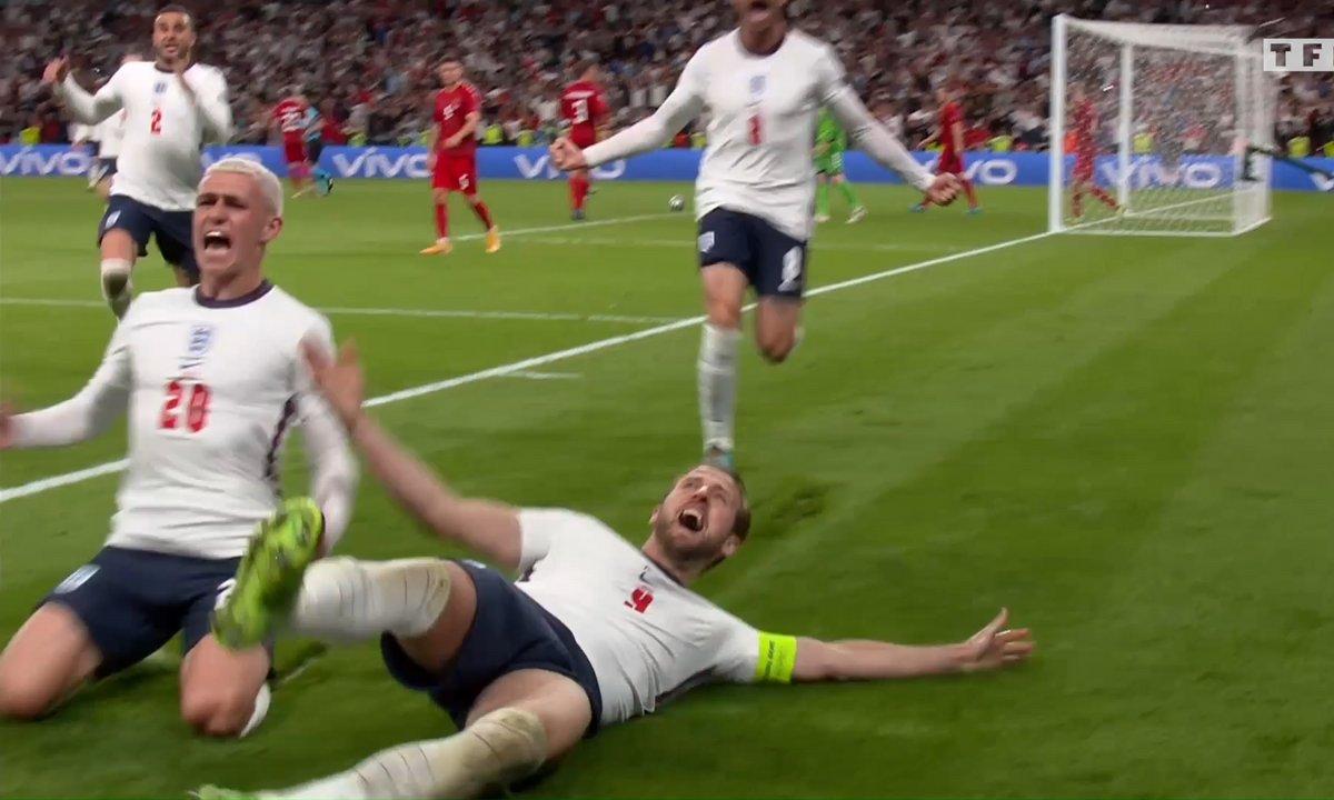 Angleterre - Danemark (2 - 1) : Voir le but de Kane sur penalty en vidéo