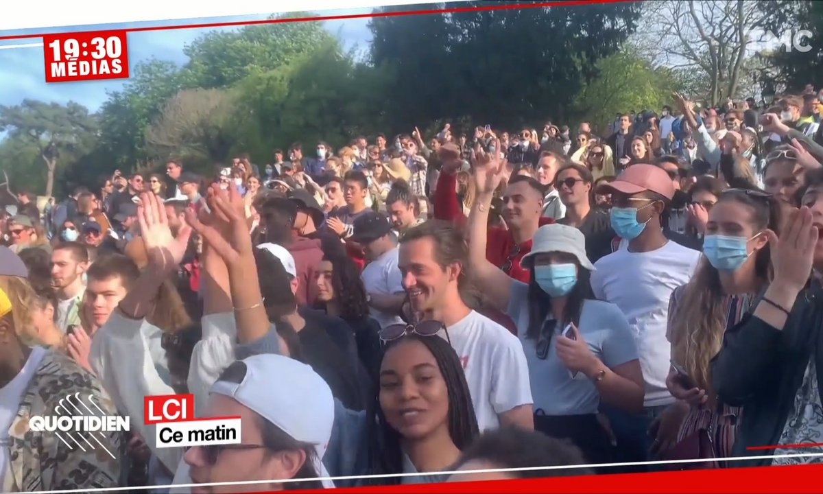 Buttes-Chaumont : une fête sauvage de 300 personnes fait grincer des dents