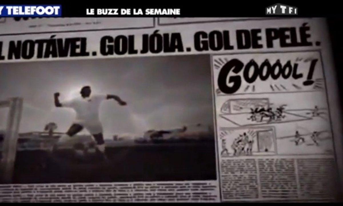 MyTELEFOOT - Le Buzz de la Semaine : le but du siècle de Pelé
