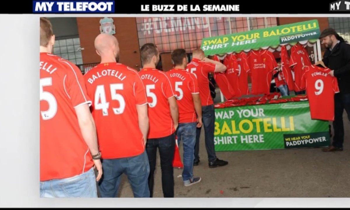 MyTELEFOOT - Le Buzz de la Semaine : l'échange de maillots de Balotelli