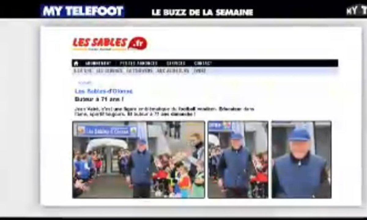 MyTELEFOOT - Le Buzz : Papy buteur et PSG-Chelsea en cartoon