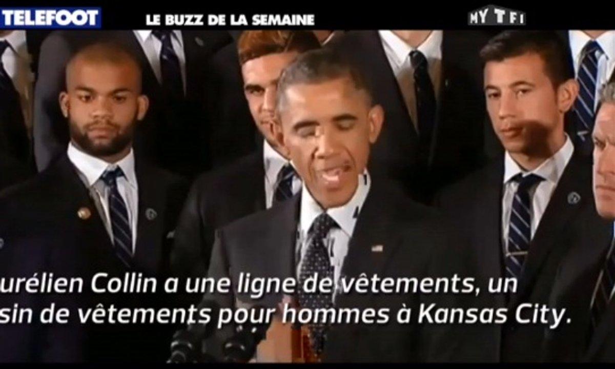 MyTELEFOOT - Le Buzz de la Semaine : Obama chambre un Français