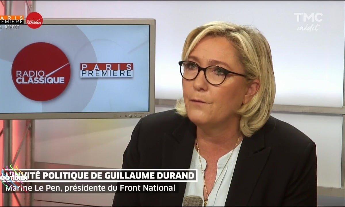 C'est la guerre entre Marine Le Pen et Florian Philippot
