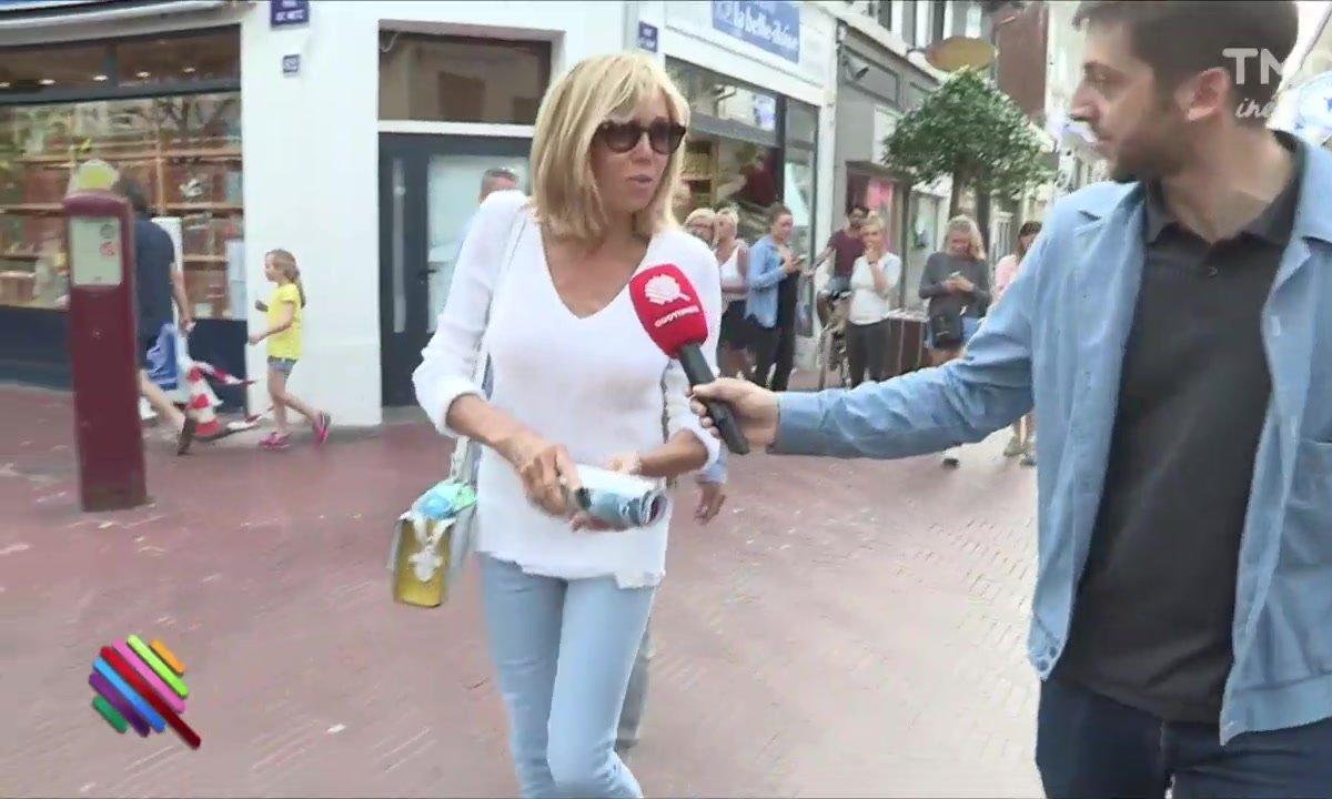 Ça se bouscule au Touquet pour Bribri et Manu Macron