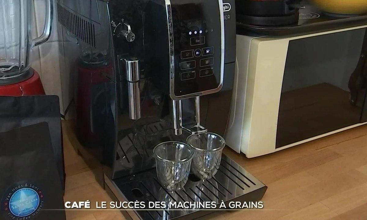 Café : le succès des machines à grains