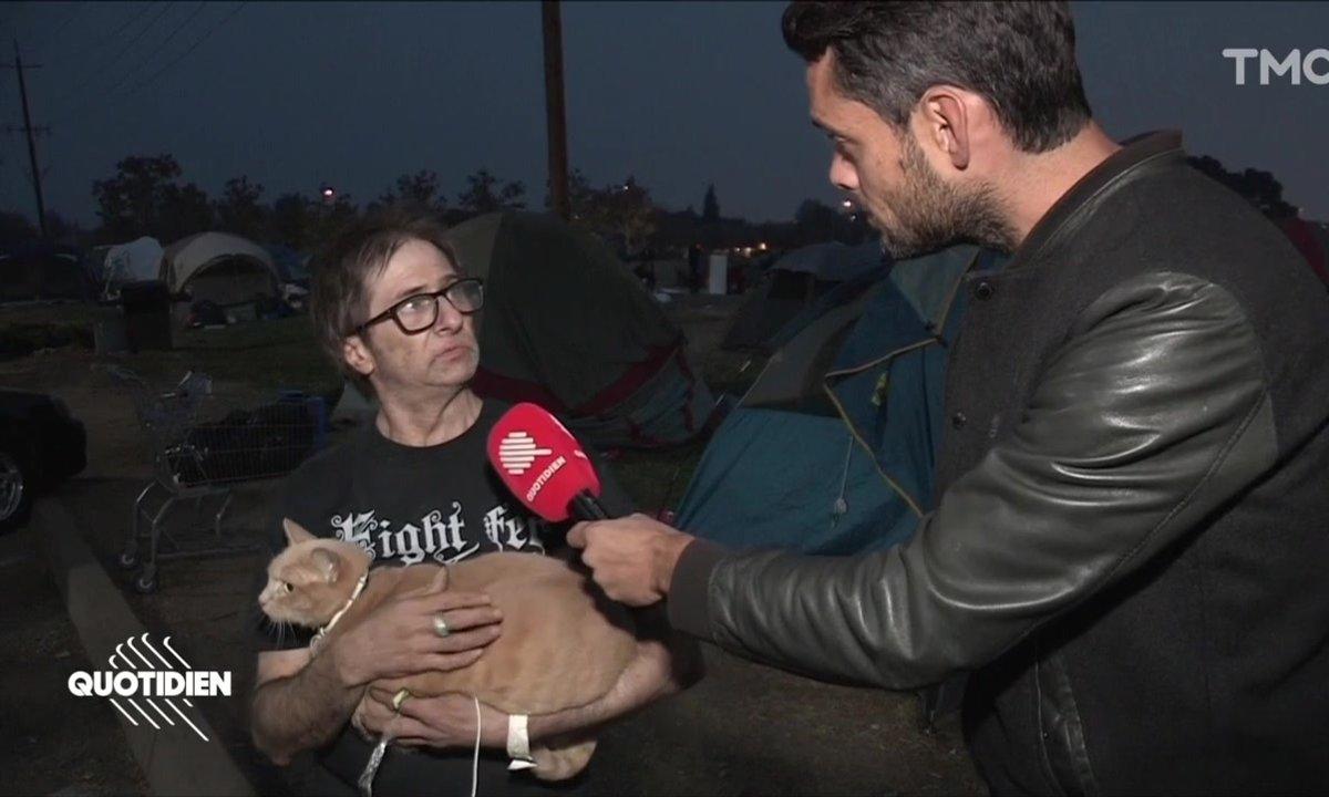 Californie : à Paradise, les habitants se sont réfugiés dans des camps de fortune