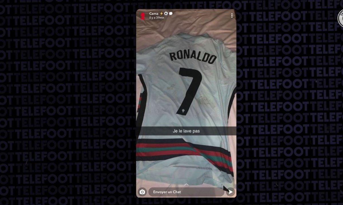 VIDEO - Sur Snap, Camavinga annonce qu'il a récupéré le maillot de Cristiano Ronaldo