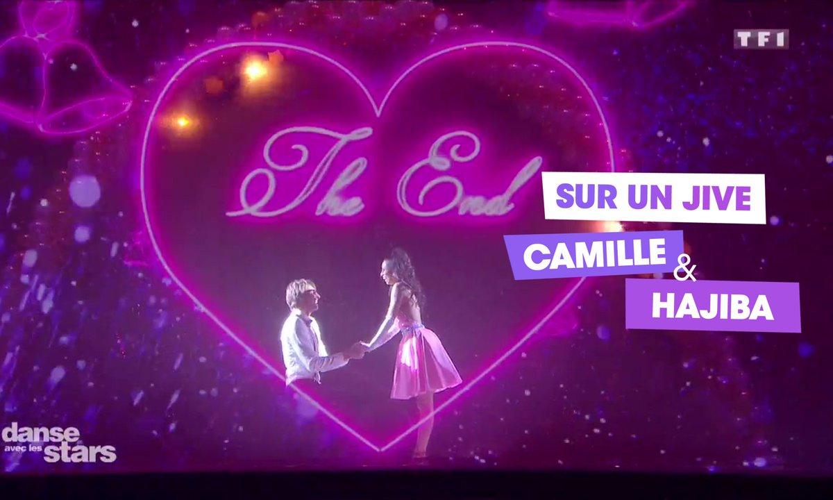 Sur un Jive, Camille Lacourt et Hajiba Fahmy (Marry You)