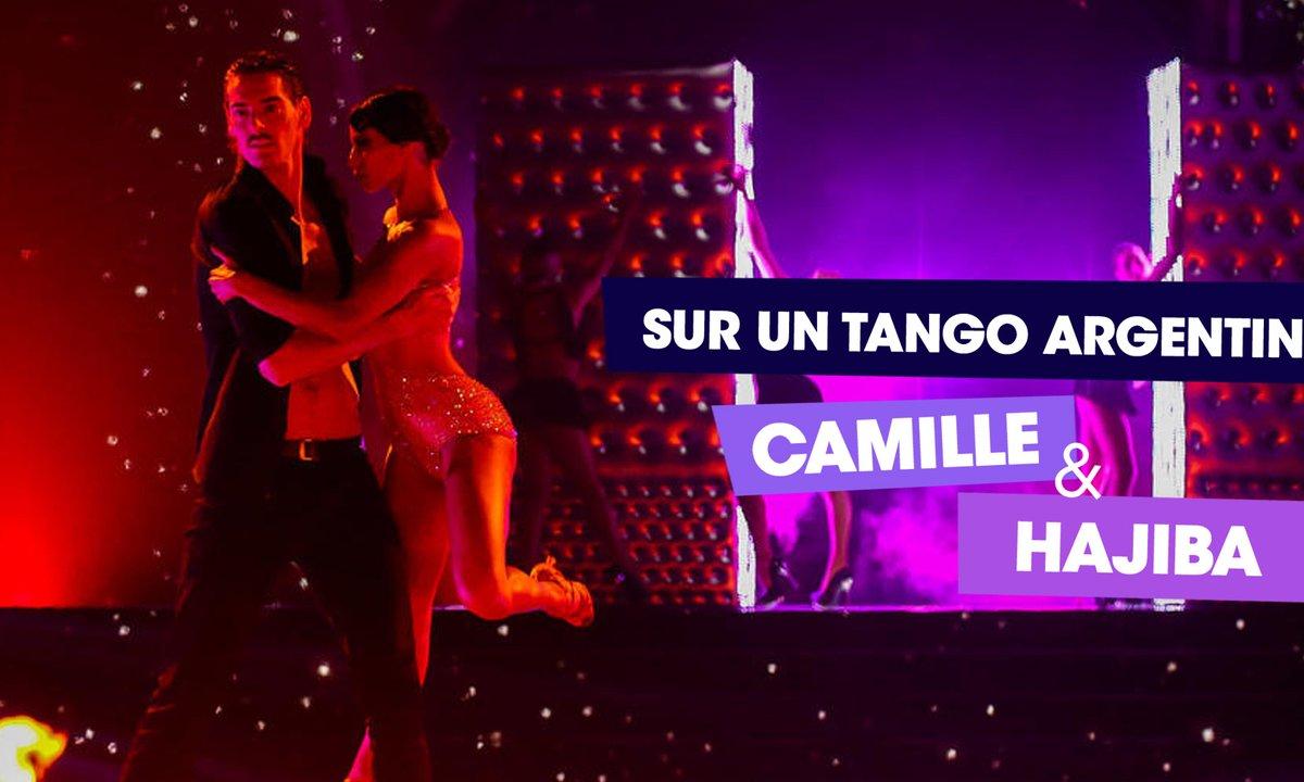 Sur un Tango Argentin, Camille Lacourt et Hajiba Fahmy (50 shades of Grey)