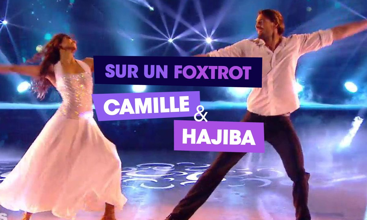 Sur un Foxtrot, Camille Lacourt et Hajiba Fahmy (I don't want to miss a thing)