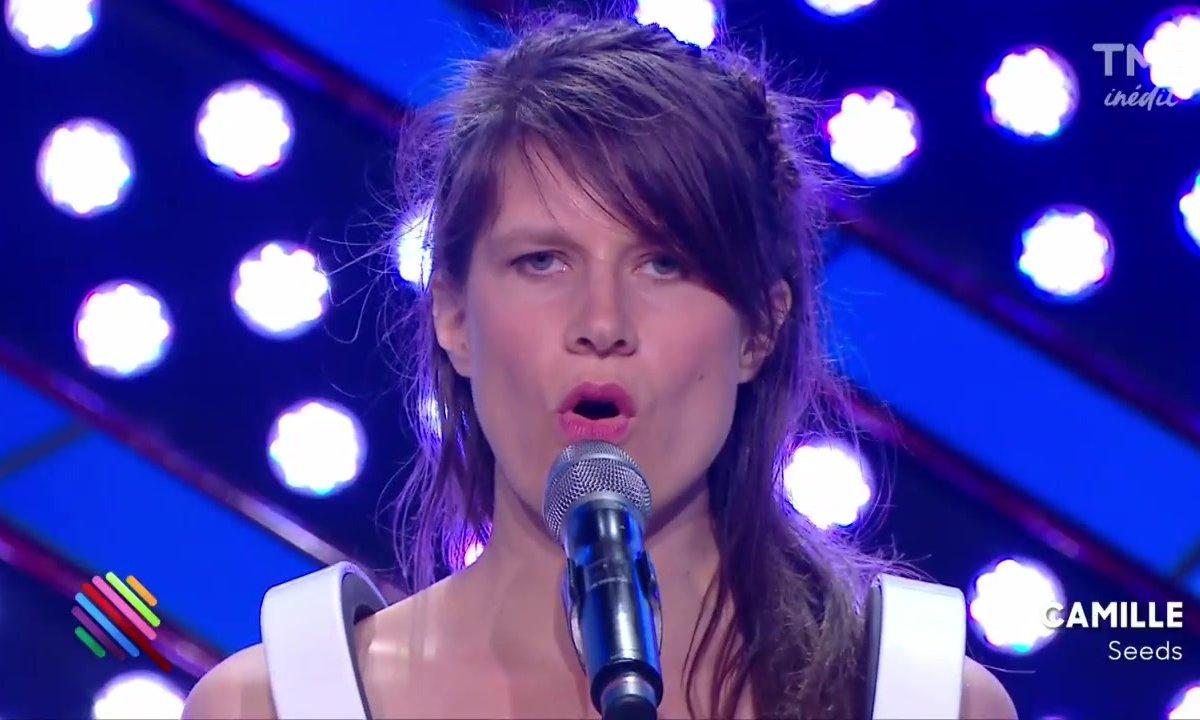 """Camille - """"Seeds"""" sur la scène de Quotidien"""