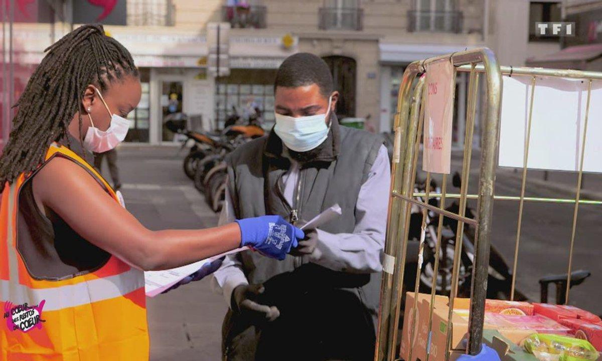 Camion frigorifique (Paris) - Au coeur des Restos du Coeur du 4 août 2020