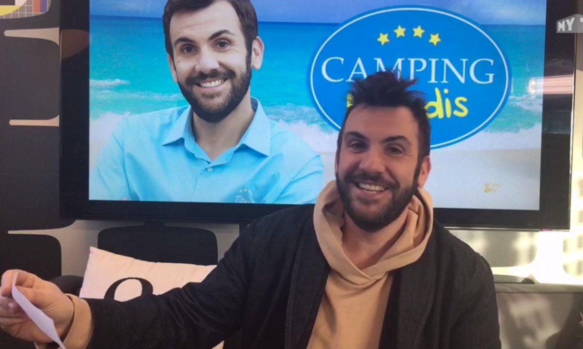 """Laurent Ournac : """"Je vais réaliser un épisode de Camping Paradis !"""""""