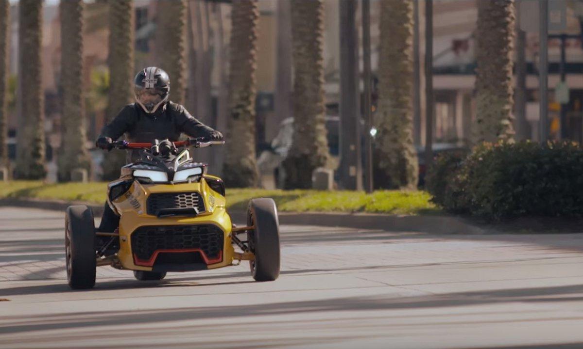 Can-Am Spyder F3 Turbo Concept en vidéo