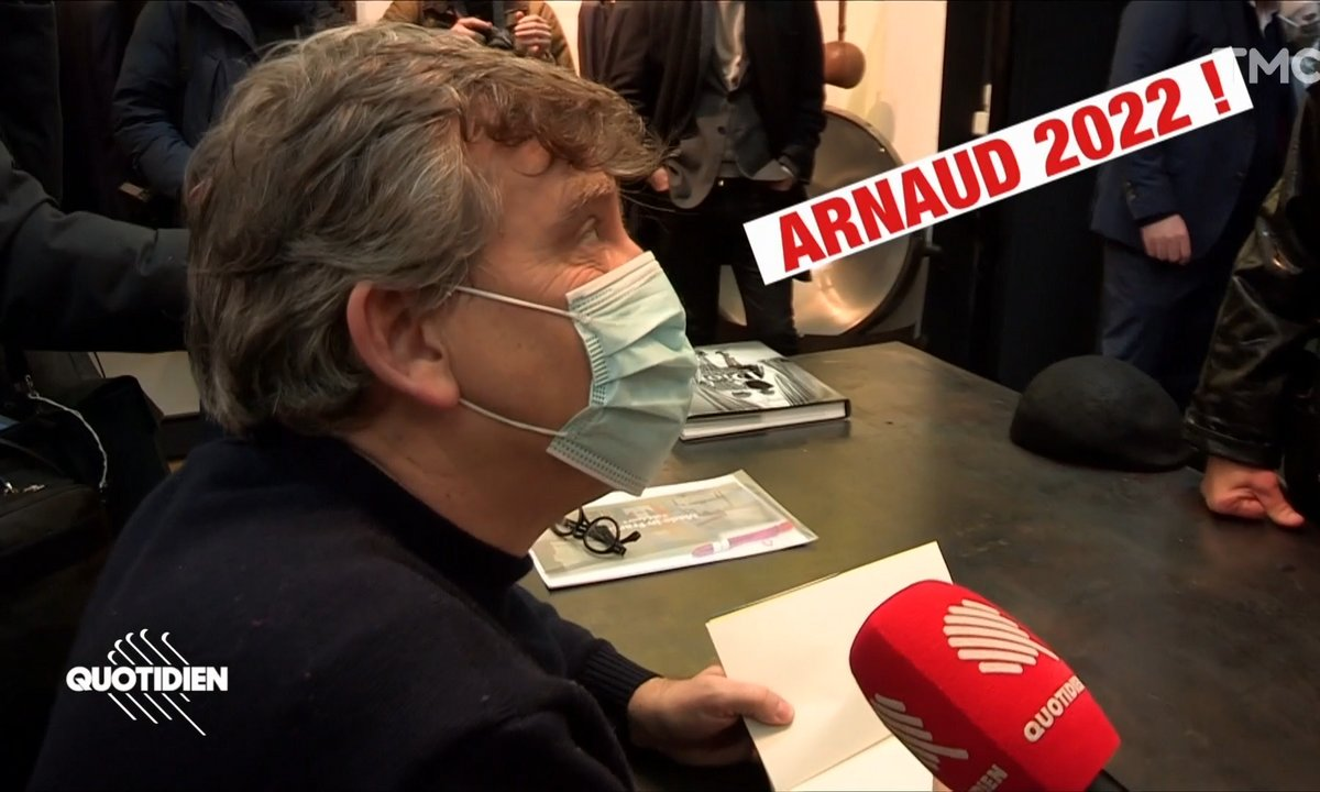 Arnaud Montebourg, l'écrivain/candidat made in France