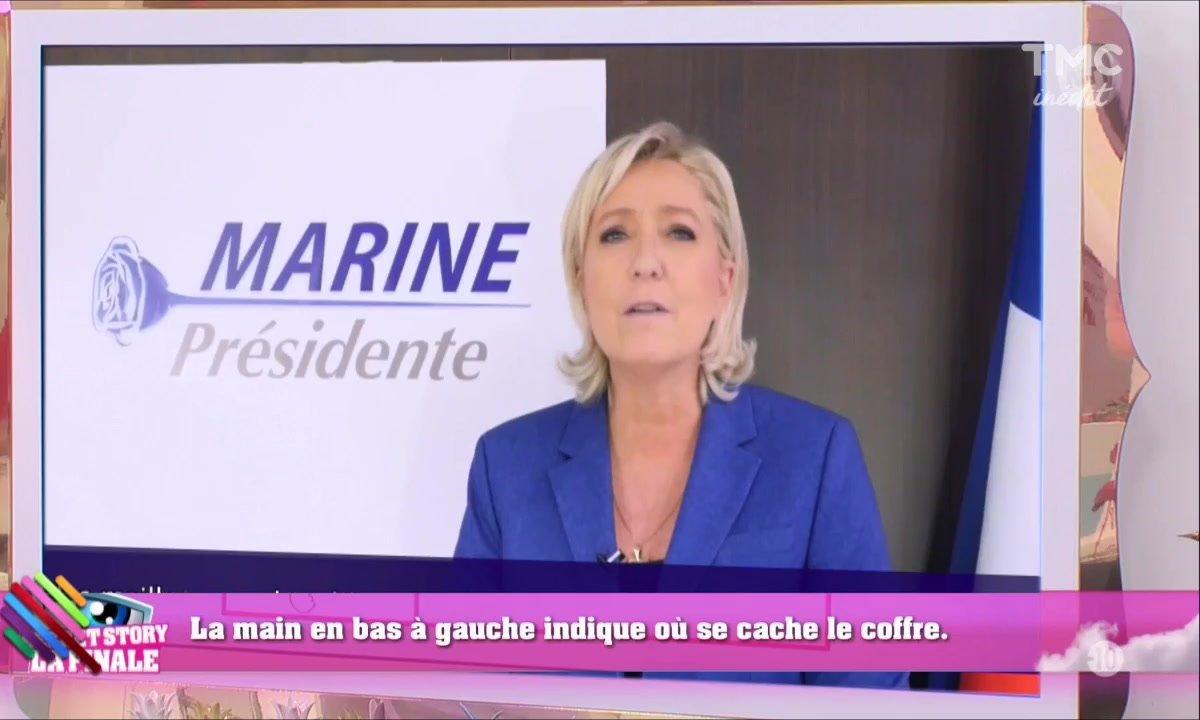 Les candidats de Secret Story réagissent au nouveau logo de Marine Le Pen