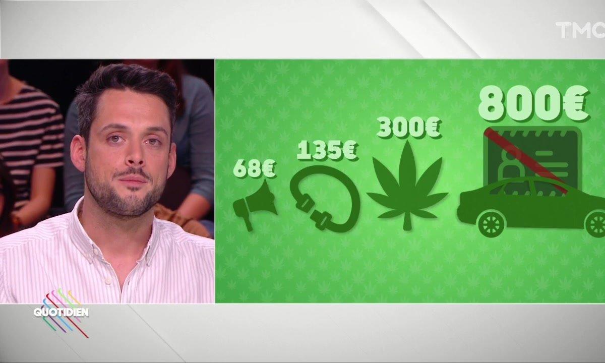 Cannabis : bientôt une amende de 300€ ?