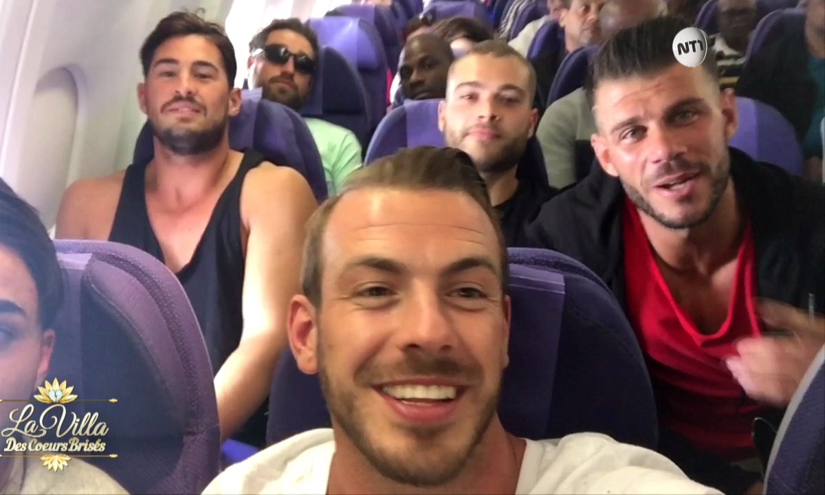 CAP SUR SAINT MARTIN : Les garçons s'envolent pour la Villa