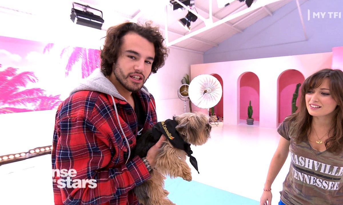 DALS - Elsa Esnoult nous présente son chien !