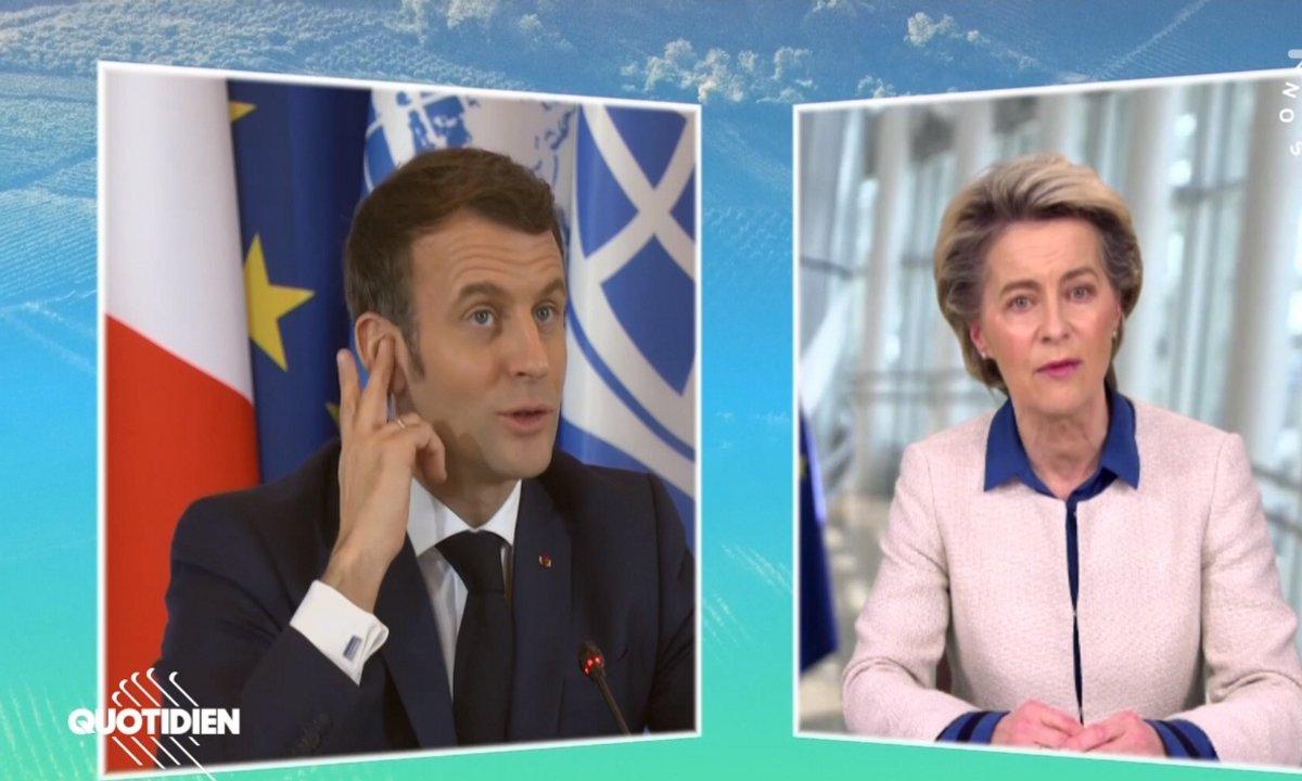 One Planet Summit: allégorie de la voix de l'Europe et son micro coupée