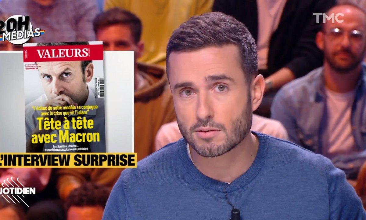 20h Médias – Interview à Valeurs actuelles : Emmanuel Macron a-t-il eu tort ?