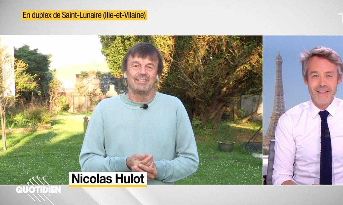 Invité : les 100 principes de Nicolas Hulot pour créer un monde meilleur